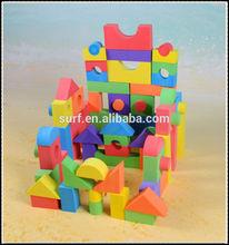 safe EVA education foam building block for kids toys
