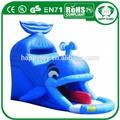 Oi ce boa qualidade inflável engraçado para crianças balanços e slide, inflável da corrediça de água
