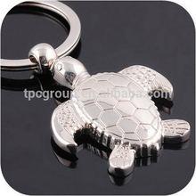 2014 Custom Cheap Zinc-alloy Sea Turtle Metal Keychain for gift