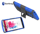 Armor Case for LG G3 Combo Case with Stand and Holster - Blue
