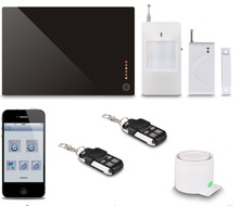 2014 Newest Alarm System Via GSM Quad Band/3G Network With Multi-Functions
