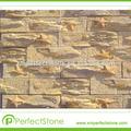 exterior del panel de pared de pizarra cultural barato de la decoración de piedra