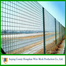 pvc or galvanzied euro fence popular cheap fencing panels manufacturer home garden