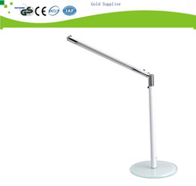 modern white rechargeable kids study cute solar desk lamp