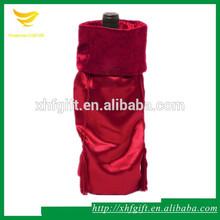 drawstring silk/satin fabric bag for wine