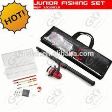 Junior fishing set and fishing rod case