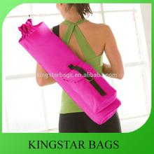 Multifunctional Natural Cotton Canvas Yoga Mat Bag