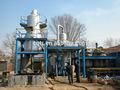 Vacío de destilación / máquina de destilación, Residuos de aceite - refinning sistema, Del aceite usado del motor de la máquina de reciclaje