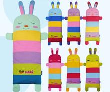 2014 Cotton Rabbit Lengthen Pillow Children Cartoon Cute Cushion Colorful