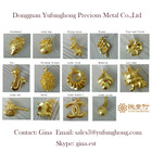 wholesale gold floating charms