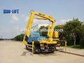 Hecho en china nudillo brazo de grúa móvil utilizada 6t camiones para la venta sq6.3za2