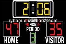 Ryham led factory message display basketball scoreboard