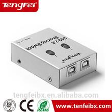 USB 2.0 2 Port Hub Manual Sharing Switch for PC Printer new