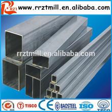Asiatico 25.4*25.4mm piazza galvnaized vasca e zincato quadrato pipee& piazza di tubazioni zincati