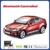 rc car toy kid car 1 14 Android control Bluetooth car BMW X6 car model