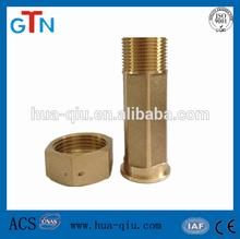 De cobre amarillo neumático conectores