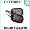 Free design Japan quality standard military army dog tag