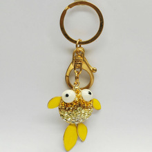 Fashionable Lovely fish 3D keychain for gifts