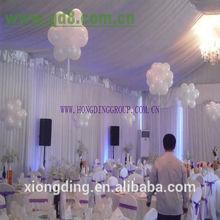 new design white drape for wedding fasion and popular