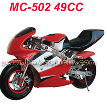 New design RED pocket bike wholesale