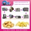 semi- automatic production line potato chips factory
