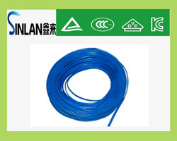 electrical wire flat cable 6-pin flat cable copper conductor pvc insulation
