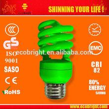 T3 13W Half Spiral colored Energy Saving Bulb 10000H CE QUALITY