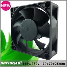 high performance 70x70x25mm fan axial ac fan electric motor for ventilation