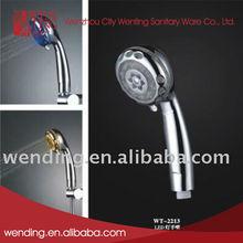 Cheap LED low flow shower head holder