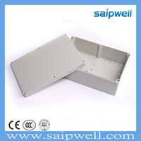 SAIPWELL/SAIP Best Selling IP67 263*182*60mm Electrical ABS Plastic Waterproof Din Rail Enclosure