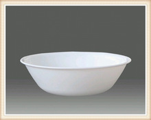 high quality heat resistant all purpose bowl 10.5'' opal glassware