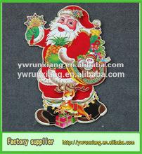 Móvil de la navidad decoraciones, Lindo de moda de la puerta de papel decoración de la navidad