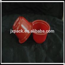 Reusable plastic bubble tea cup