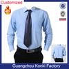 long sleeve Italian style latest fashion design business dress wear cotton blue men formal shirt