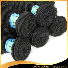 best quality 100% virgin human hair malaysian remy kinky curly human hair weft