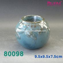 80098 Fashionable ceramic candle holder