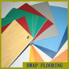 Good price and high quality PVC sport flooring for indoor sport courts / Professional indoor badminton court use vinyl flooring