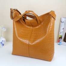 Fashion Korean hobo design women pu leather handbag