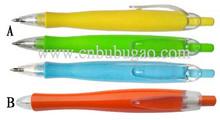2015 plastic push ballpoint pen / click ball pen