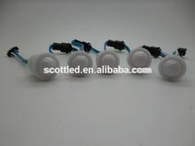 20 node round shape 1 pixel control 1 led ;5050 smd rgb ucs1903 led 12 volt led string lights 16mm