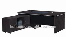 HAIJING guangdong furniture plastic swivel staff custom computer desks