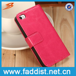 Best selling PU leather cell phone case for iphone 4s