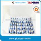 High quality HDPE empty plastic super glue bottle 10g
