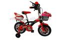 12 14 16 pouces. vélo enfant avec la roue de formation vélo enfant tc-002