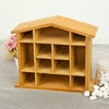 The shape of the roof small antique small storage box,Wooden storage box