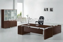 HAIJING 5# office all MDFglass desk top coffee table