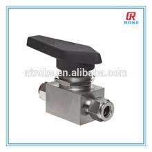 high pressure 1000 WOG stainless steel ball valve