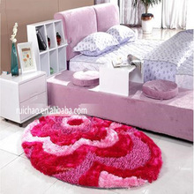 soft shaggy Area rugs for bed room