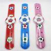 Wholesale pvc good design kids size slap watch/make slap watch