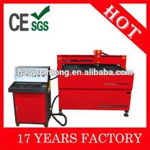 CNC Plasma Metal Cutting Machine for Cutting Aluminum, Iron, Steel, Galvanized Steel, Titanium Plate